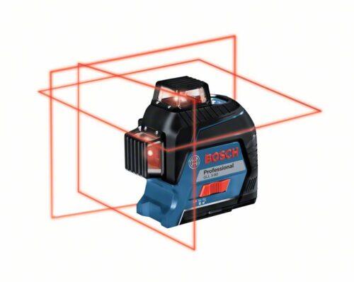 Лазерный уровень Bosch GLL 3-80 на 360 градусов 3 луча