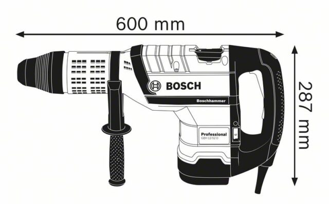 Перфоратор от Bosch GBH12-52D (2)