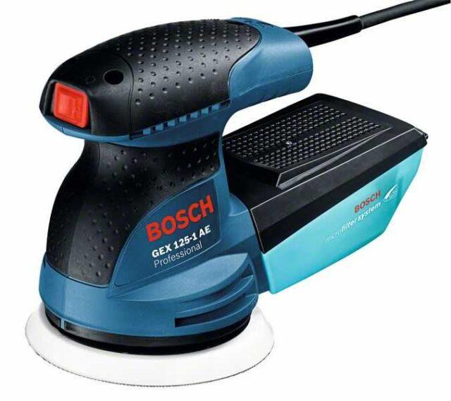 Эксцентриковая виброшлифовальная машина Bosch GEX 125-1 AE