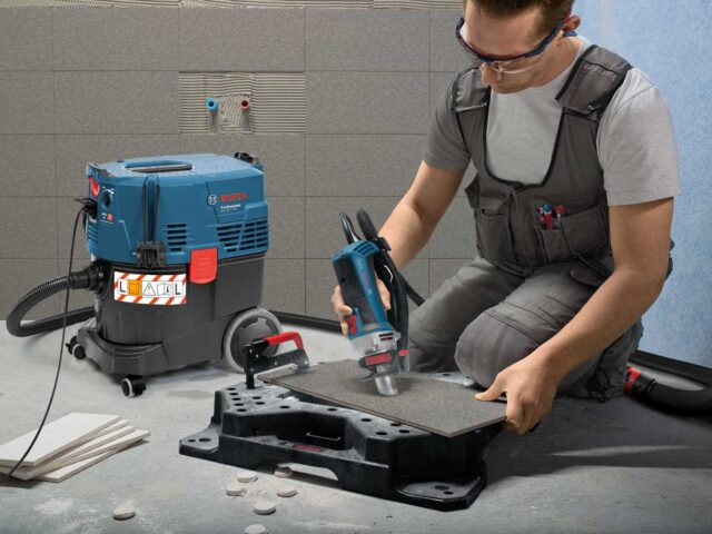 Пылесос Bosch GAS 35 L AFC применение