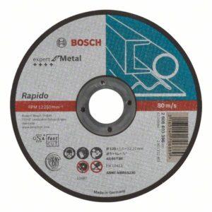 Отрезной круг по металлу 125х1мм, прямой Bosch