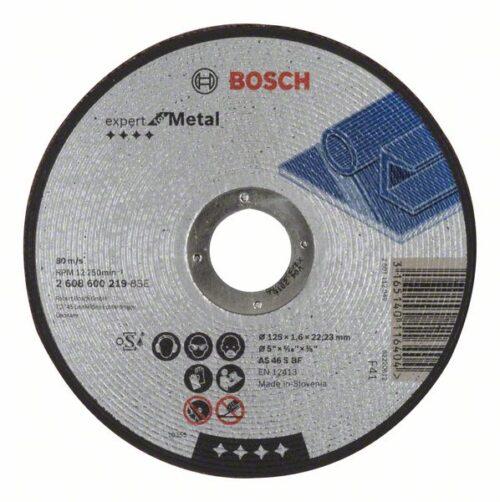 Отрезной круг, прямой, Expert for Metal 125 mm, 1,6 mm
