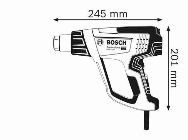 Строительный фен BOSCH GHG 23-66 Professional Case GHG_23-66